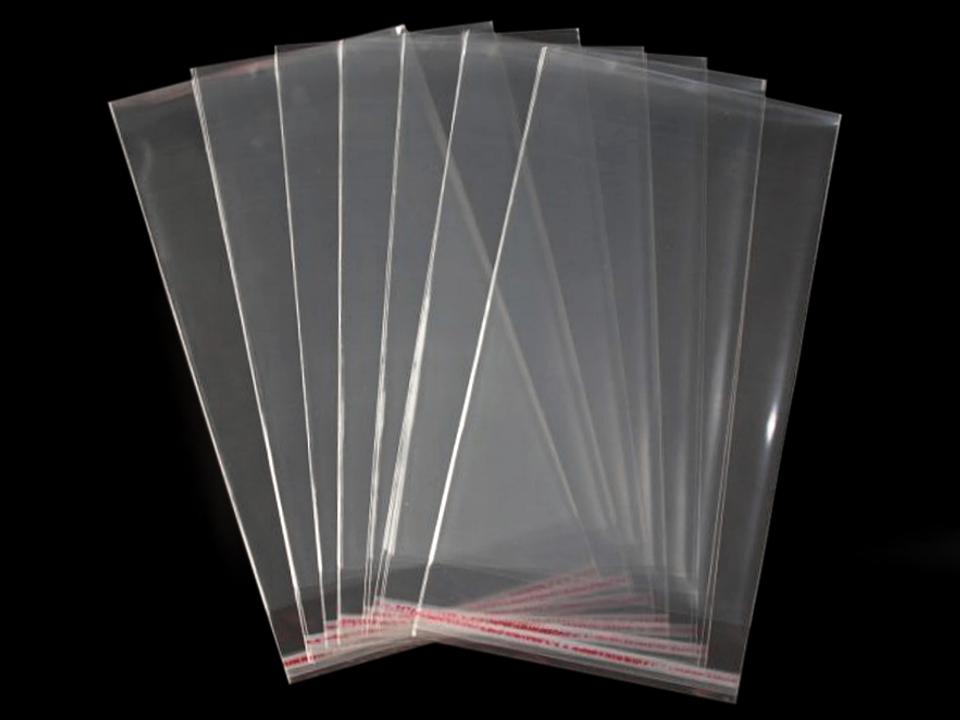 Textillux.sk - produkt Celofánové sáčky s lepiacou lištou 20x50 cm.  Transparent. 100 ks 8ea25657890