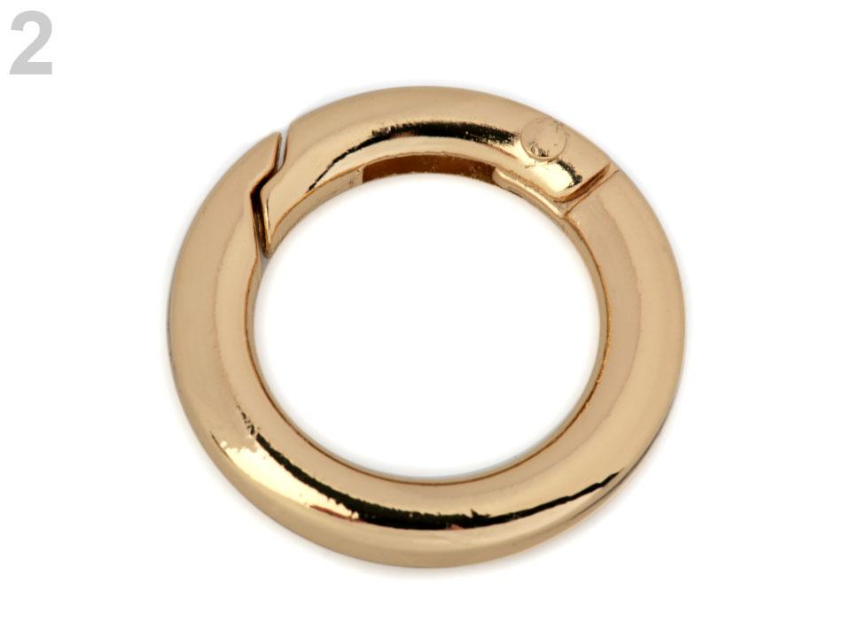Karabínka krúžok na kľúče   kabelky Ø18 mm  8170653dfb2