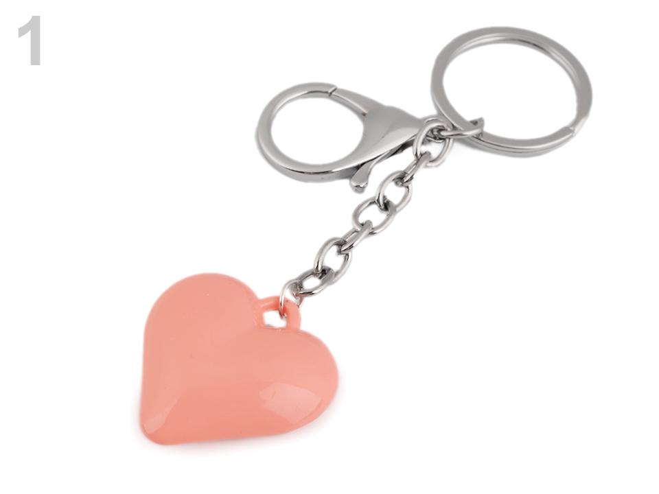 Textillux.sk - produkt Prívesok na kabelku   kľúče srdce 906fed4c5b3