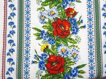 6c2897527fcb Bavlnená látka Vrchársky vzor - lúčne kvety 150 cm  11271