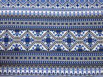 f3191350942a Bavlnená látka vzor starej mamy 140 cm  11269
