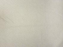 81b6d22acec6 Textillux.sk - produkt Bavlnená látka zelená bodka 3mm 140 cm